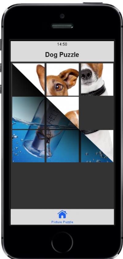 Picture Puzzle with app.js