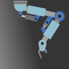 highlight robot arm