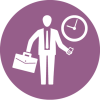 Management-Business-person-briefcase-check-time-appointment-purple-circul-icon